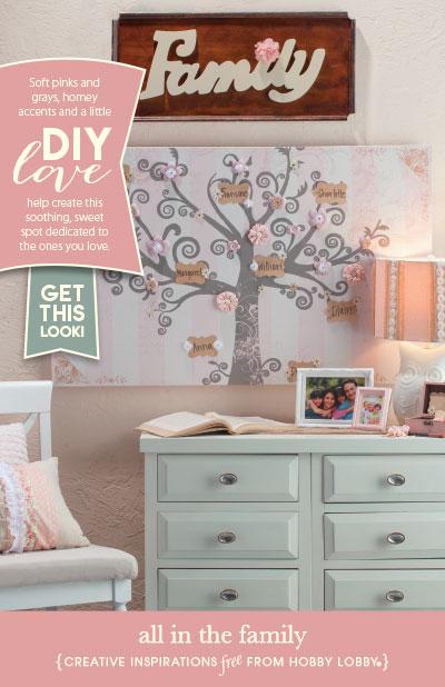 Hobby Lobby Tree Of Life Wall Decor : Hobbylobby projects all in the family