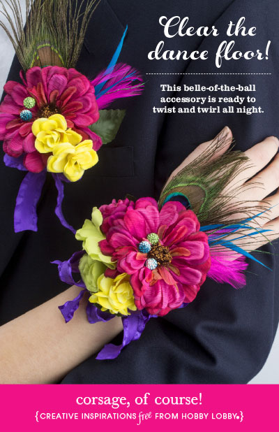 Hobby Lobby Corsage DIY Crafts