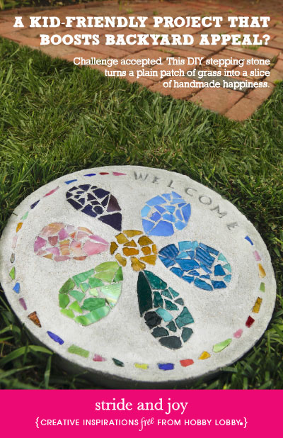 Hobby Lobby Stepping Stones for Kids