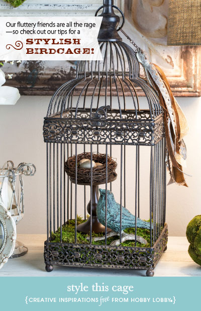 Hobbylobby Projects Style This Cage Home Decorators Catalog Best Ideas of Home Decor and Design [homedecoratorscatalog.us]