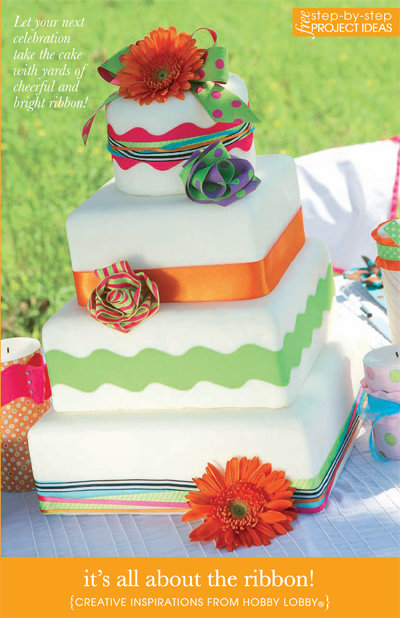 Cake Decor Hobby Lobby : HobbyLobby Projects - It s All About The Ribbon