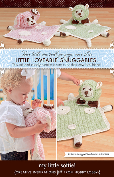 Hobby Lobby Project - My Little Softie! - Crochet Blanket Instructions
