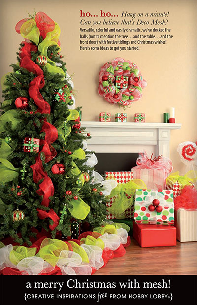 hobby lobby christmas decorations image search results hobbylobby projects all i want for christmas christmas a merry christmas with mesh - Hobby Lobby After Christmas Sale