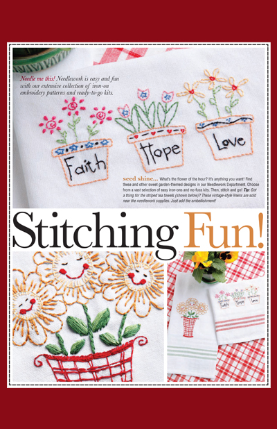 Hobby Lobby Project - Stitching Fun - Needlework Decor